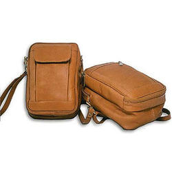 Leather Male Bag with Organizer