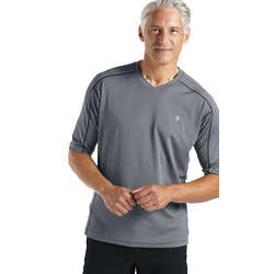 Men's Short Sleeve UPF50+ Cool Fitness Shirt