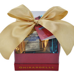 Red and Gold Valentine Gift Box of Chocolates