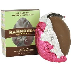 All Natural Milk Chocolate and Marshmallow Easter Egg