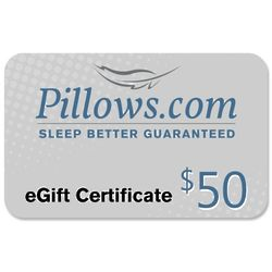 $50 Pillows eGift Certificate