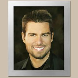 Tom Cruise Fine Art Print