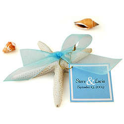 Beach Starfish Favor of Love