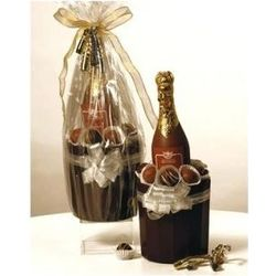 Chocolate Champagne Bucket and Bottle