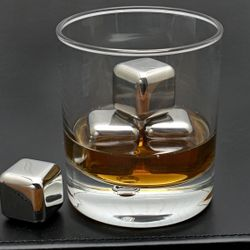 Stainless Steel Whiskey Rocks