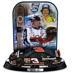 Dale Earnhardt NASCAR Hall Of Fame Trophy Sculpture