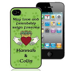 Claddagh Personalized iPhone 4 Case