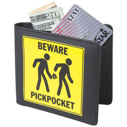 Beware of Pickpocket Wallet
