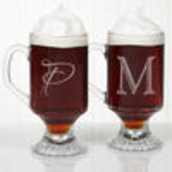 Initial Impressions Personalized Footed Mug Set