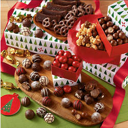 Holiday Gift Tower of Chocolates Deluxe