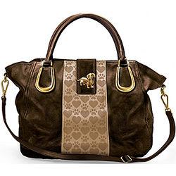 Dachshund Love Satchel-Style Handbag