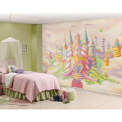 Princess Castle Full Wall Mural