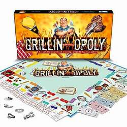 Grillin-opoly Game
