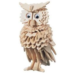 Owl 3D Wooden Jigsaw Puzzle