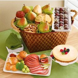 Serve & Savor Turkey Tray Buffet Basket