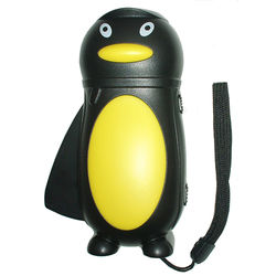 Hand Powered LED Flashlight Penguin