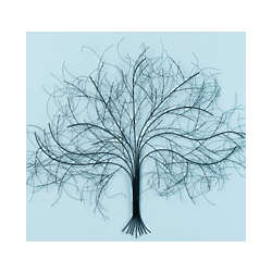 Black Tree Wall Art
