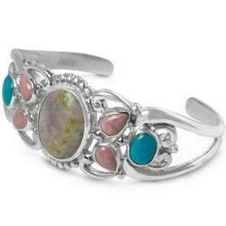 American Harmony Monet Stone Cuff Bracelet