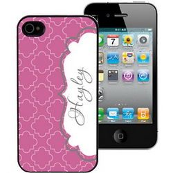 Modern Elegance Personalized iPhone 4 Case