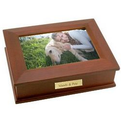 Wooden Photo Frame Box