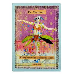 Oscar Wilde Be Yourself Quote Canvas Art