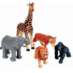 Jumbo Jungle Animal Toys