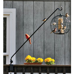 Screw-On Hanger Bird Feeder Swing-Arm