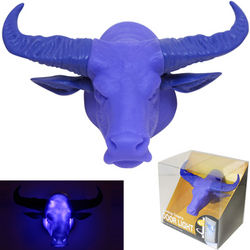 Purple Buffalo Door Light