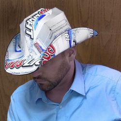 Coors Light Beer Box Cowboy Hat