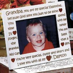 Grandpa Valentine Frame