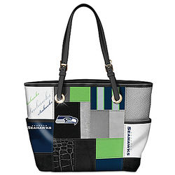 Seattle Seahawks For the Love of the Game Fashion Tote Bag