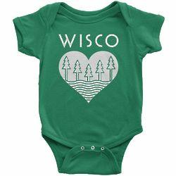 Wisco Roots Infant Bodysuit