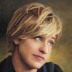 Ellen DeGeneres Oil Painting Giclee