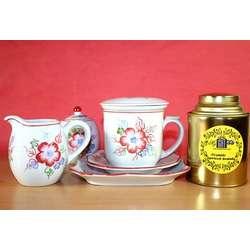 Vintage Rose Tea Gift Set