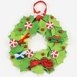 3-D Wreath Craft Kit