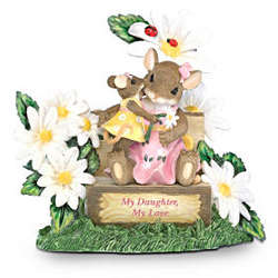 Charming Tails My Daughter My Love Figurine
