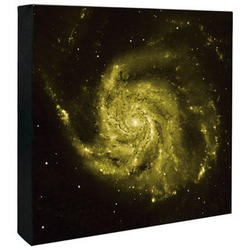 Spiral Galaxy Hubble Composite Image Canvas Print
