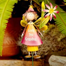Personalized Garden Fairy Stake