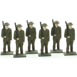 Cast Iron Toy Soldiers
