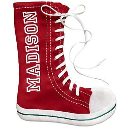 Personalized Red Hi-Top Sneaker Stocking