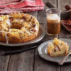 Pecan Custard Coffee Cake