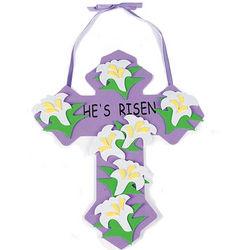 He's Risen Cross Craft Kit