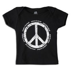 Peace Sign with Soccer Lingo Infant T-Shirt