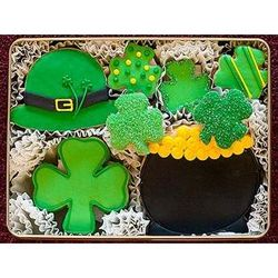 Luck of the Irish Hand Decorated Cookies