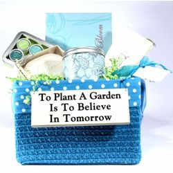To Plant A Garden Is To Believe In Tomorrow Basket