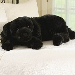 Super Soft Labrador Body Pillow with Realistic Features