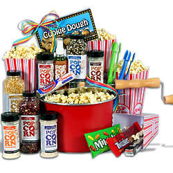 Night at the Movies Popcorn Lover's Gift Basket