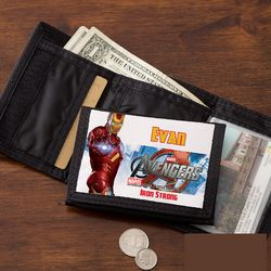 Personalized Avengers Kid's Wallet