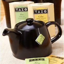 Tazo Tea and Teapot
