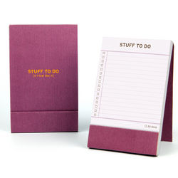 Stuff to Do Pocket Notepad